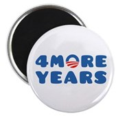 4 More Years Magnet