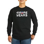 4 More Years Long Sleeve Dark T-Shirt