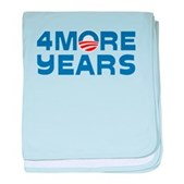 4 More Years baby blanket