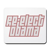 Re-Elect Obama Mousepad
