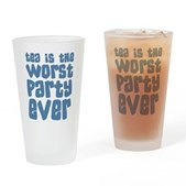 Worst Party Ever Drinking Glass