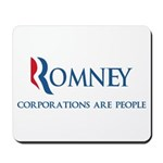 An anti-Mitt Romney spoof design with a slogan the candidate should use