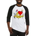 I Heart Schoolhouse Rock! Baseball Jersey