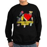 I Heart Schoolhouse Rock! Dark Sweatshirt (dark)