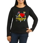 I Heart Schoolhouse Rock! Women's Long Sleeve Dark T-Shirt