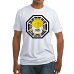 Lost Chick - Dharma Initiative Fitted T-Shirt