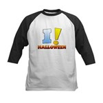 I ! Halloween Kids Baseball Jersey