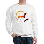 Flying Vampire Bats Sweatshirt
