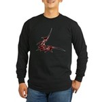 Vampire Bat 1 Long Sleeve Dark T-Shirt