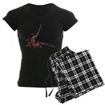 Vampire Bat 1 Women's Dark Pajamas