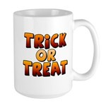 Trick or Treat Large Mug