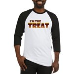 Glowing I'm the Treat Baseball Jersey