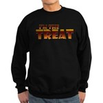 Glowing I'm the Treat Dark Sweatshirt (dark)