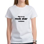 this is my rock star costume Women's T-Shirt