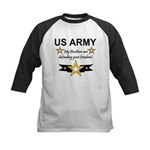 Army Brothers Defending Freed Kids Baseball Jersey
