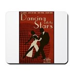 Distressed Retro DWTS Poster Mousepad