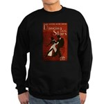 Distressed Retro DWTS Poster Dark Sweatshirt (dark)