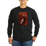 Distressed Retro DWTS Poster Long Sleeve Dark T-Shirt