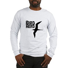 Bird Nerd (Frigatebird) Long Sleeve T-Shirt