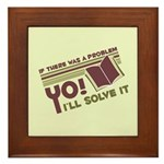 Yo! I'll Solve It Framed Tile