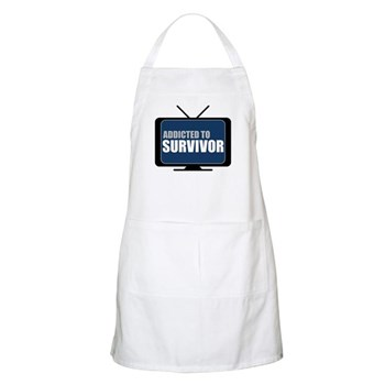 Addicted to Survivor Apron