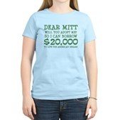 Mitt Will You Adopt Me? Women's Light T-Shirt