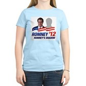 Anti-Romney Shadow Women's Light T-Shirt