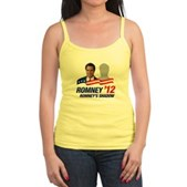 Anti-Romney Shadow Jr. Spaghetti Tank