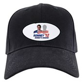 Anti-Romney Shadow Black Cap