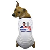Anti-Romney Shadow Dog T-Shirt