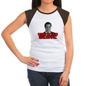 Anti-Romney: Unfit To Serve Women's Cap Sleeve T-S