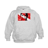 Divers for Obama Kids Hoodie