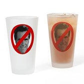 No Mitt Drinking Glass