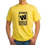 Rated Watchmen Fanatic Yellow T-Shirt