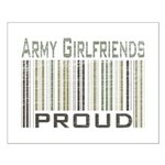 Military Army Girlfriends Proud Small Poster