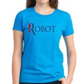 Anti-Romney ROBOT Women's Dark T-Shirt