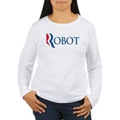 Anti-Romney ROBOT Women's Long Sleeve T-Shirt