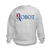 Anti-Romney ROBOT Kids Sweatshirt