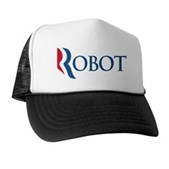 Anti-Romney ROBOT Trucker Hat