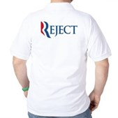Anti-Romney Reject Golf Shirt