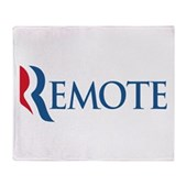 Anti-Romney Remote Stadium Blanket