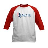 Anti-Romney Remote Kids Baseball Jersey