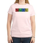 Teacher made of Elements colors Women's Light T-Shirt