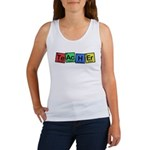 Teacher made of Elements whimsy Women's Tank Top
