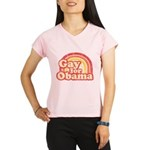 Gay for Obama Performance Dry T-Shirt