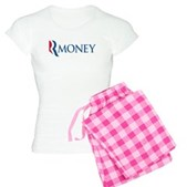 Anti-Romney RMONEY Women's Light Pajamas