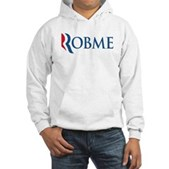 Anti-Romney Robme Hooded Sweatshirt