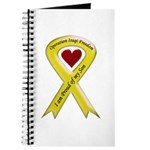 Yellow Ribbon Proud of my Son Journal