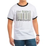 Military Army Reserves Proud Ringer T
