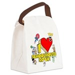 I Heart Schoolhouse Rock! Canvas Lunch Bag